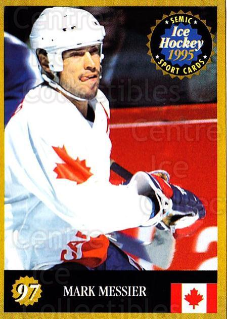 1995 Finnish Semic World Championships #97 Mark Messier<br/>10 In Stock - $2.00 each - <a href=https://centericecollectibles.foxycart.com/cart?name=1995%20Finnish%20Semic%20World%20Championships%20%2397%20Mark%20Messier...&quantity_max=10&price=$2.00&code=243325 class=foxycart> Buy it now! </a>