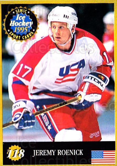 1995 Finnish Semic World Championships #118 Jeremy Roenick<br/>10 In Stock - $2.00 each - <a href=https://centericecollectibles.foxycart.com/cart?name=1995%20Finnish%20Semic%20World%20Championships%20%23118%20Jeremy%20Roenick...&quantity_max=10&price=$2.00&code=243333 class=foxycart> Buy it now! </a>