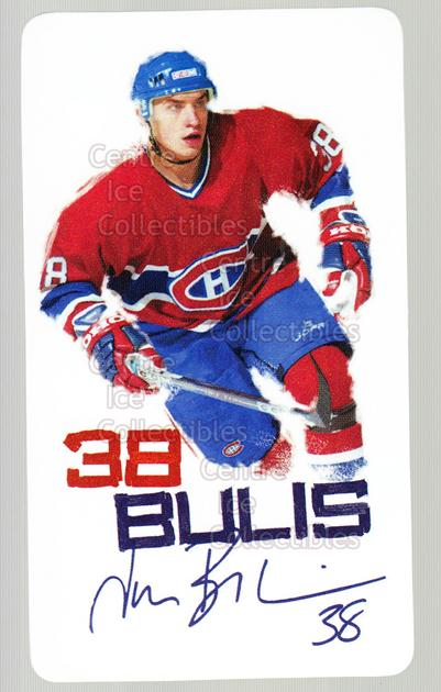 2003-04 Montreal Canadiens Special Events Cards #6 Jan Bulis<br/>2 In Stock - $3.00 each - <a href=https://centericecollectibles.foxycart.com/cart?name=2003-04%20Montreal%20Canadiens%20Special%20Events%20Cards%20%236%20Jan%20Bulis...&quantity_max=2&price=$3.00&code=243611 class=foxycart> Buy it now! </a>