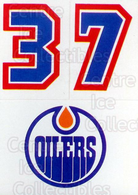1986-87 Topps Stickers Insert #33 Edmonton Oilers<br/>1 In Stock - $1.00 each - <a href=https://centericecollectibles.foxycart.com/cart?name=1986-87%20Topps%20Stickers%20Insert%20%2333%20Edmonton%20Oilers...&price=$1.00&code=24372 class=foxycart> Buy it now! </a>
