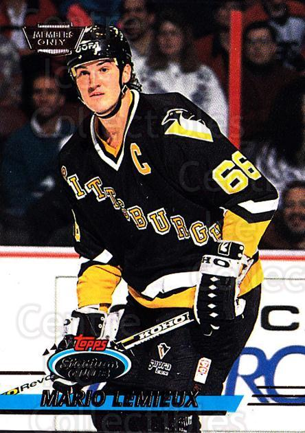 1993-94 Stadium Club Members Only #310 Mario Lemieux<br/>6 In Stock - $10.00 each - <a href=https://centericecollectibles.foxycart.com/cart?name=1993-94%20Stadium%20Club%20Members%20Only%20%23310%20Mario%20Lemieux...&quantity_max=6&price=$10.00&code=243749 class=foxycart> Buy it now! </a>