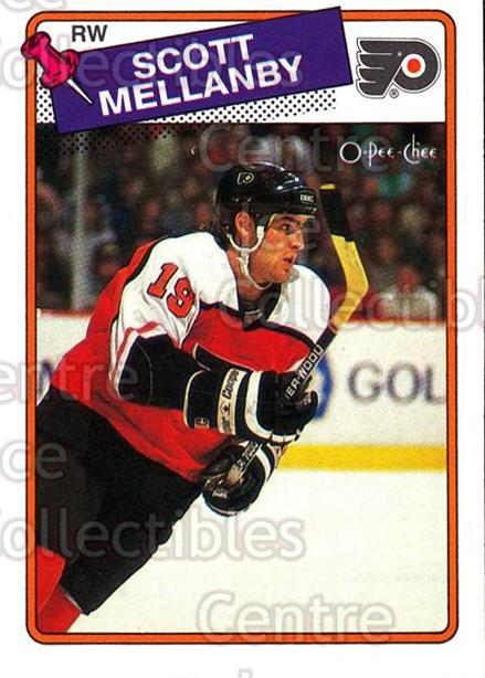 1988-89 O-Pee-Chee #21 Scott Mellanby<br/>6 In Stock - $2.00 each - <a href=https://centericecollectibles.foxycart.com/cart?name=1988-89%20O-Pee-Chee%20%2321%20Scott%20Mellanby...&quantity_max=6&price=$2.00&code=243774 class=foxycart> Buy it now! </a>