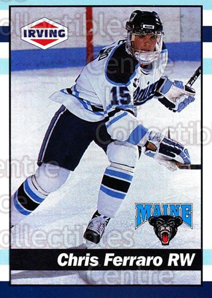 1992-93 Maine Black Bears #25 Chris Ferraro<br/>1 In Stock - $3.00 each - <a href=https://centericecollectibles.foxycart.com/cart?name=1992-93%20Maine%20Black%20Bears%20%2325%20Chris%20Ferraro...&quantity_max=1&price=$3.00&code=243801 class=foxycart> Buy it now! </a>