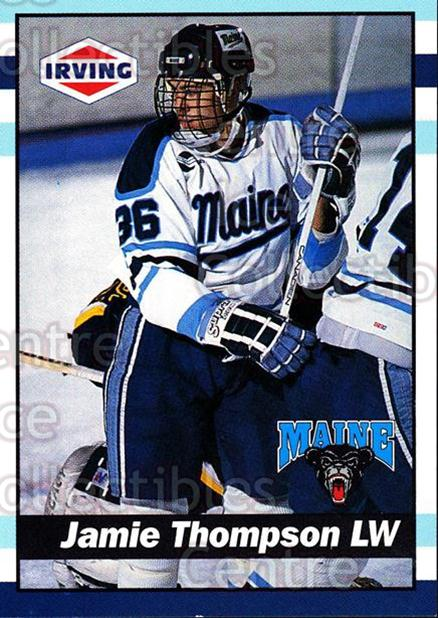 1992-93 Maine Black Bears #36 Jamie Thompson<br/>1 In Stock - $3.00 each - <a href=https://centericecollectibles.foxycart.com/cart?name=1992-93%20Maine%20Black%20Bears%20%2336%20Jamie%20Thompson...&quantity_max=1&price=$3.00&code=243812 class=foxycart> Buy it now! </a>