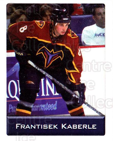 2003 NHL Stickers Collection #6 Frantisek Kaberle<br/>4 In Stock - $2.00 each - <a href=https://centericecollectibles.foxycart.com/cart?name=2003%20NHL%20Stickers%20Collection%20%236%20Frantisek%20Kaber...&quantity_max=4&price=$2.00&code=244058 class=foxycart> Buy it now! </a>