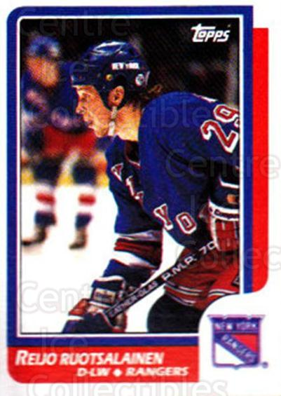 1986-87 Topps #128 Reijo Ruotsalainen<br/>4 In Stock - $1.00 each - <a href=https://centericecollectibles.foxycart.com/cart?name=1986-87%20Topps%20%23128%20Reijo%20Ruotsalai...&quantity_max=4&price=$1.00&code=24406 class=foxycart> Buy it now! </a>