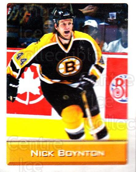 2003 NHL Stickers Collection #19 Nick Boynton<br/>4 In Stock - $2.00 each - <a href=https://centericecollectibles.foxycart.com/cart?name=2003%20NHL%20Stickers%20Collection%20%2319%20Nick%20Boynton...&quantity_max=4&price=$2.00&code=244071 class=foxycart> Buy it now! </a>
