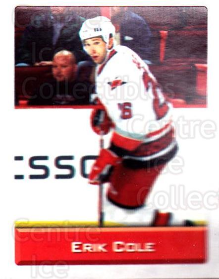 2003 NHL Stickers Collection #34 Erik Cole<br/>4 In Stock - $2.00 each - <a href=https://centericecollectibles.foxycart.com/cart?name=2003%20NHL%20Stickers%20Collection%20%2334%20Erik%20Cole...&quantity_max=4&price=$2.00&code=244086 class=foxycart> Buy it now! </a>