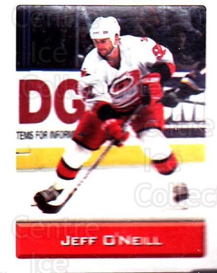 2003 NHL Stickers Collection #37 Jeff O'Neill<br/>3 In Stock - $2.00 each - <a href=https://centericecollectibles.foxycart.com/cart?name=2003%20NHL%20Stickers%20Collection%20%2337%20Jeff%20O'Neill...&quantity_max=3&price=$2.00&code=244089 class=foxycart> Buy it now! </a>