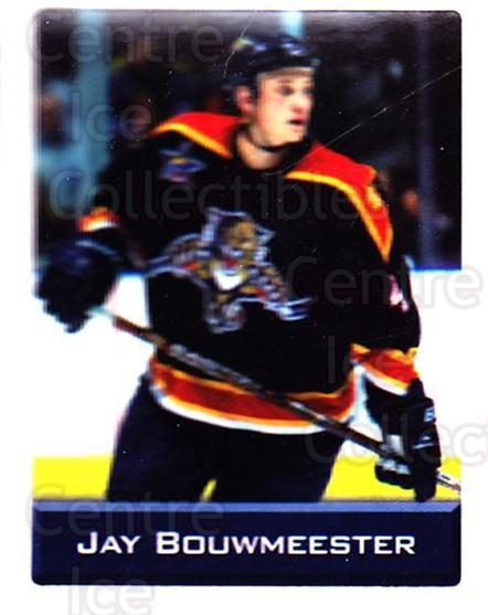 2003 NHL Stickers Collection #49 Jay Bouwmeester<br/>3 In Stock - $2.00 each - <a href=https://centericecollectibles.foxycart.com/cart?name=2003%20NHL%20Stickers%20Collection%20%2349%20Jay%20Bouwmeester...&quantity_max=3&price=$2.00&code=244101 class=foxycart> Buy it now! </a>