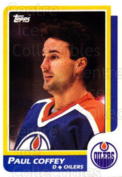 1986-87 Topps #137 Paul Coffey<br/>4 In Stock - $2.00 each - <a href=https://centericecollectibles.foxycart.com/cart?name=1986-87%20Topps%20%23137%20Paul%20Coffey...&quantity_max=4&price=$2.00&code=24416 class=foxycart> Buy it now! </a>