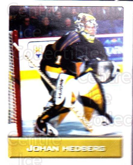 2003 NHL Stickers Collection #120 Johan Hedberg<br/>3 In Stock - $2.00 each - <a href=https://centericecollectibles.foxycart.com/cart?name=2003%20NHL%20Stickers%20Collection%20%23120%20Johan%20Hedberg...&quantity_max=3&price=$2.00&code=244172 class=foxycart> Buy it now! </a>