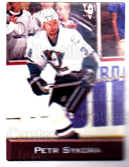 2003 NHL Stickers Collection #157 Petr Sykora<br/>3 In Stock - $2.00 each - <a href=https://centericecollectibles.foxycart.com/cart?name=2003%20NHL%20Stickers%20Collection%20%23157%20Petr%20Sykora...&quantity_max=3&price=$2.00&code=244209 class=foxycart> Buy it now! </a>