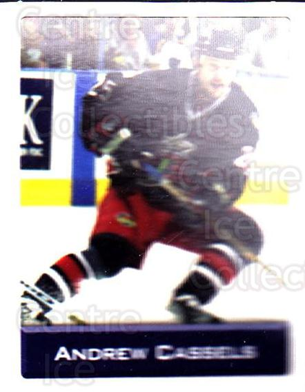 2003 NHL Stickers Collection #195 Andrew Cassels<br/>4 In Stock - $2.00 each - <a href=https://centericecollectibles.foxycart.com/cart?name=2003%20NHL%20Stickers%20Collection%20%23195%20Andrew%20Cassels...&quantity_max=4&price=$2.00&code=244247 class=foxycart> Buy it now! </a>
