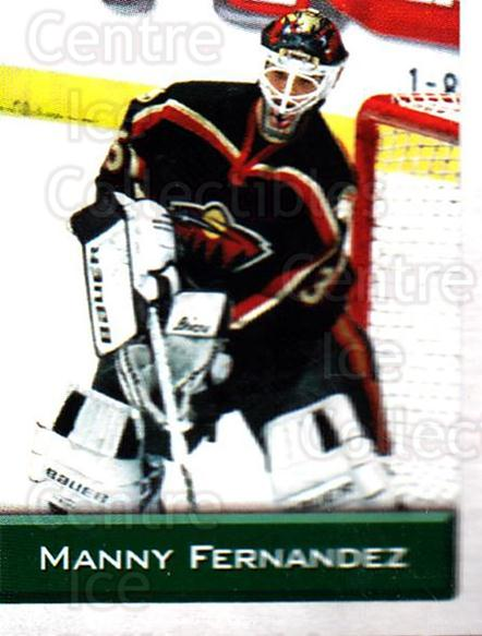 2003 NHL Stickers Collection #250 Manny Fernandez<br/>3 In Stock - $2.00 each - <a href=https://centericecollectibles.foxycart.com/cart?name=2003%20NHL%20Stickers%20Collection%20%23250%20Manny%20Fernandez...&quantity_max=3&price=$2.00&code=244302 class=foxycart> Buy it now! </a>