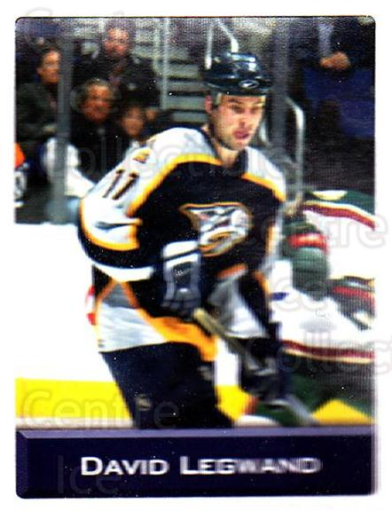 2003 NHL Stickers Collection #256 David Legwand<br/>6 In Stock - $2.00 each - <a href=https://centericecollectibles.foxycart.com/cart?name=2003%20NHL%20Stickers%20Collection%20%23256%20David%20Legwand...&quantity_max=6&price=$2.00&code=244308 class=foxycart> Buy it now! </a>