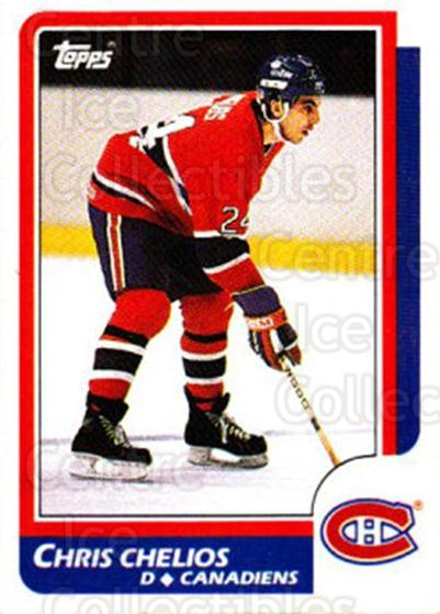1986-87 Topps #171 Chris Chelios<br/>1 In Stock - $2.00 each - <a href=https://centericecollectibles.foxycart.com/cart?name=1986-87%20Topps%20%23171%20Chris%20Chelios...&quantity_max=1&price=$2.00&code=24450 class=foxycart> Buy it now! </a>