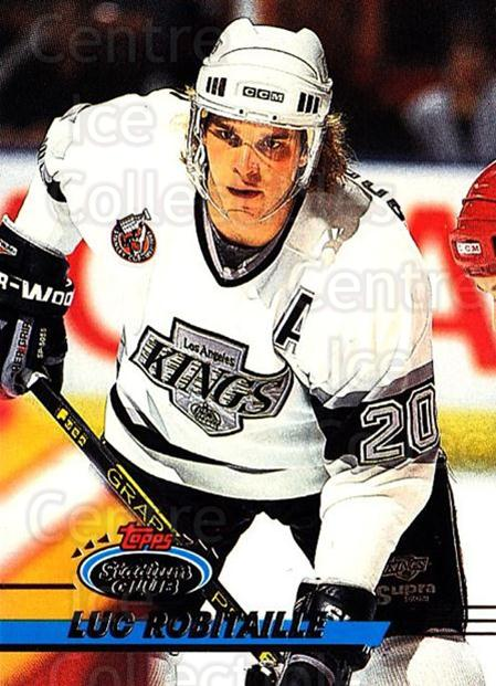 1993-94 Stadium Club #87 Luc Robitaille<br/>4 In Stock - $1.00 each - <a href=https://centericecollectibles.foxycart.com/cart?name=1993-94%20Stadium%20Club%20%2387%20Luc%20Robitaille...&quantity_max=4&price=$1.00&code=244881 class=foxycart> Buy it now! </a>