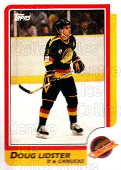 1986-87 Topps #32 Doug Lidster<br/>7 In Stock - $1.00 each - <a href=https://centericecollectibles.foxycart.com/cart?name=1986-87%20Topps%20%2332%20Doug%20Lidster...&quantity_max=7&price=$1.00&code=24490 class=foxycart> Buy it now! </a>
