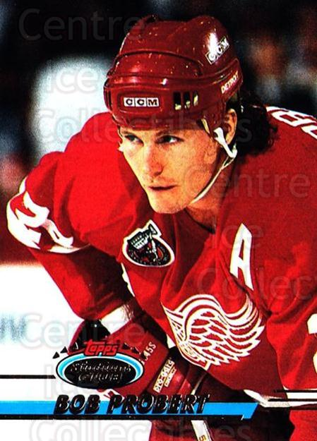 1993-94 Stadium Club #137 Bob Probert<br/>4 In Stock - $1.00 each - <a href=https://centericecollectibles.foxycart.com/cart?name=1993-94%20Stadium%20Club%20%23137%20Bob%20Probert...&quantity_max=4&price=$1.00&code=244931 class=foxycart> Buy it now! </a>