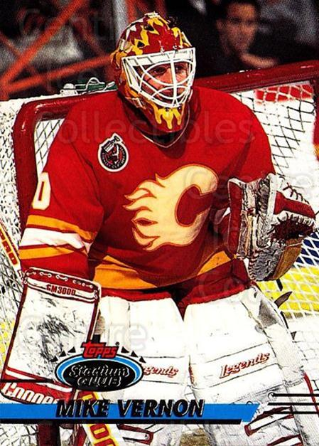 1993-94 Stadium Club #319 Mike Vernon<br/>4 In Stock - $1.00 each - <a href=https://centericecollectibles.foxycart.com/cart?name=1993-94%20Stadium%20Club%20%23319%20Mike%20Vernon...&quantity_max=4&price=$1.00&code=245113 class=foxycart> Buy it now! </a>