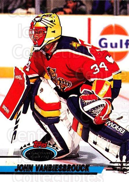 1993-94 Stadium Club #330 John Vanbiesbrouck<br/>2 In Stock - $1.00 each - <a href=https://centericecollectibles.foxycart.com/cart?name=1993-94%20Stadium%20Club%20%23330%20John%20Vanbiesbro...&quantity_max=2&price=$1.00&code=245124 class=foxycart> Buy it now! </a>