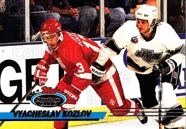 1993-94 Stadium Club #388 Vyacheslav Kozlov<br/>4 In Stock - $1.00 each - <a href=https://centericecollectibles.foxycart.com/cart?name=1993-94%20Stadium%20Club%20%23388%20Vyacheslav%20Kozl...&quantity_max=4&price=$1.00&code=245182 class=foxycart> Buy it now! </a>