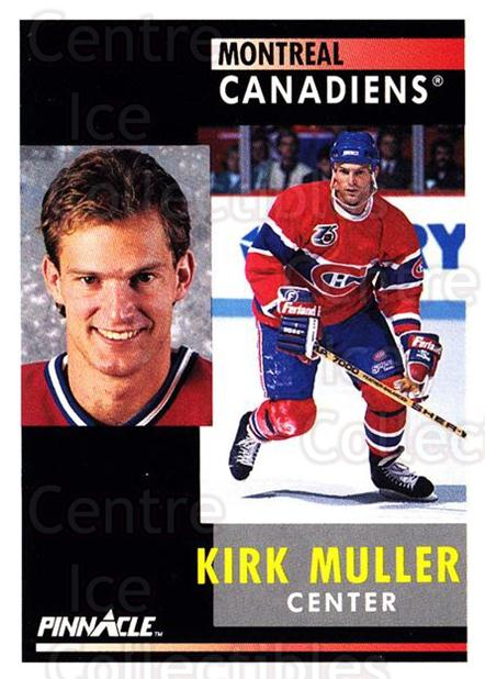 1991-92 Pinnacle #3 Kirk Muller<br/>8 In Stock - $1.00 each - <a href=https://centericecollectibles.foxycart.com/cart?name=1991-92%20Pinnacle%20%233%20Kirk%20Muller...&quantity_max=8&price=$1.00&code=245297 class=foxycart> Buy it now! </a>