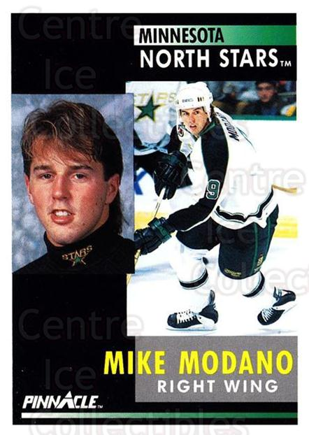1991-92 Pinnacle #5 Mike Modano<br/>7 In Stock - $1.00 each - <a href=https://centericecollectibles.foxycart.com/cart?name=1991-92%20Pinnacle%20%235%20Mike%20Modano...&quantity_max=7&price=$1.00&code=245299 class=foxycart> Buy it now! </a>