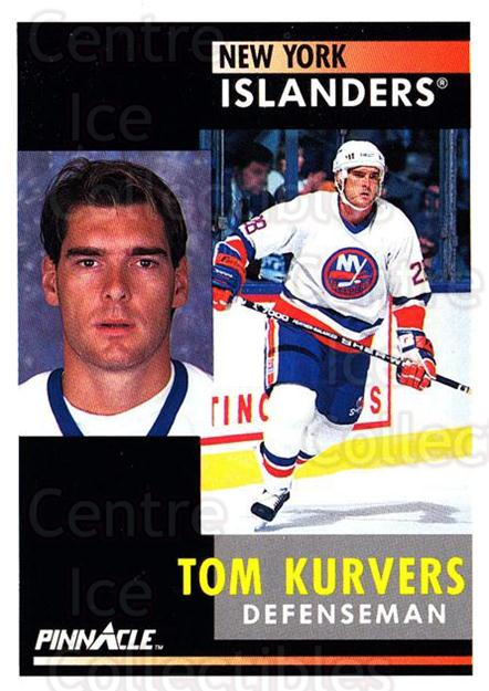 1991-92 Pinnacle #7 Tom Kurvers<br/>7 In Stock - $1.00 each - <a href=https://centericecollectibles.foxycart.com/cart?name=1991-92%20Pinnacle%20%237%20Tom%20Kurvers...&quantity_max=7&price=$1.00&code=245301 class=foxycart> Buy it now! </a>