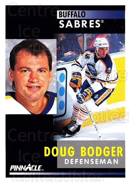 1991-92 Pinnacle #8 Doug Bodger<br/>8 In Stock - $1.00 each - <a href=https://centericecollectibles.foxycart.com/cart?name=1991-92%20Pinnacle%20%238%20Doug%20Bodger...&quantity_max=8&price=$1.00&code=245302 class=foxycart> Buy it now! </a>