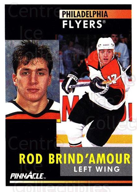 1991-92 Pinnacle #9 Rod Brind'Amour<br/>8 In Stock - $1.00 each - <a href=https://centericecollectibles.foxycart.com/cart?name=1991-92%20Pinnacle%20%239%20Rod%20Brind'Amour...&quantity_max=8&price=$1.00&code=245303 class=foxycart> Buy it now! </a>