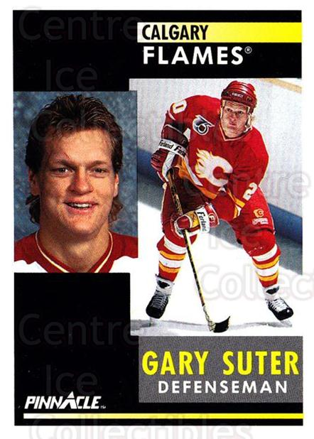 1991-92 Pinnacle #11 Gary Suter<br/>7 In Stock - $1.00 each - <a href=https://centericecollectibles.foxycart.com/cart?name=1991-92%20Pinnacle%20%2311%20Gary%20Suter...&quantity_max=7&price=$1.00&code=245305 class=foxycart> Buy it now! </a>