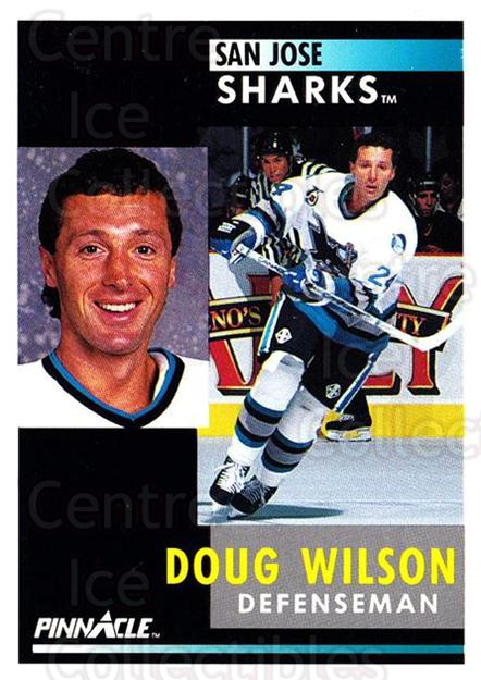 1991-92 Pinnacle #13 Doug Wilson<br/>7 In Stock - $1.00 each - <a href=https://centericecollectibles.foxycart.com/cart?name=1991-92%20Pinnacle%20%2313%20Doug%20Wilson...&quantity_max=7&price=$1.00&code=245307 class=foxycart> Buy it now! </a>