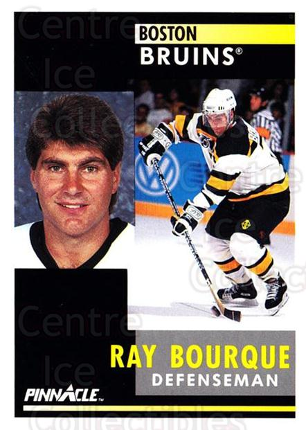 1991-92 Pinnacle #15 Ray Bourque<br/>8 In Stock - $1.00 each - <a href=https://centericecollectibles.foxycart.com/cart?name=1991-92%20Pinnacle%20%2315%20Ray%20Bourque...&quantity_max=8&price=$1.00&code=245309 class=foxycart> Buy it now! </a>