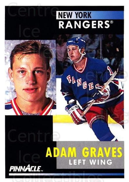 1991-92 Pinnacle #16 Adam Graves<br/>8 In Stock - $1.00 each - <a href=https://centericecollectibles.foxycart.com/cart?name=1991-92%20Pinnacle%20%2316%20Adam%20Graves...&quantity_max=8&price=$1.00&code=245310 class=foxycart> Buy it now! </a>