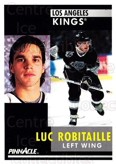 1991-92 Pinnacle #17 Luc Robitaille<br/>8 In Stock - $1.00 each - <a href=https://centericecollectibles.foxycart.com/cart?name=1991-92%20Pinnacle%20%2317%20Luc%20Robitaille...&quantity_max=8&price=$1.00&code=245311 class=foxycart> Buy it now! </a>