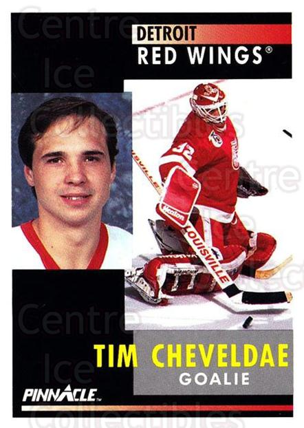 1991-92 Pinnacle #21 Tim Cheveldae<br/>7 In Stock - $1.00 each - <a href=https://centericecollectibles.foxycart.com/cart?name=1991-92%20Pinnacle%20%2321%20Tim%20Cheveldae...&quantity_max=7&price=$1.00&code=245315 class=foxycart> Buy it now! </a>