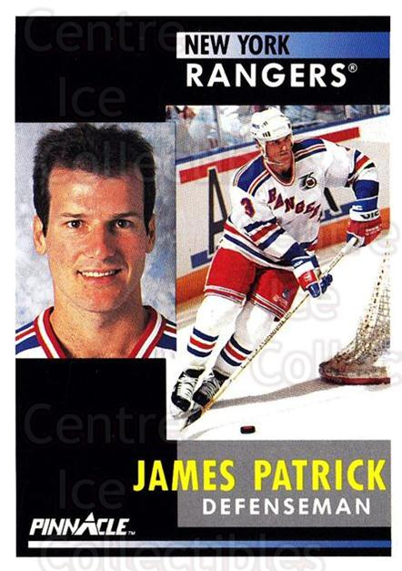 1991-92 Pinnacle #26 James Patrick<br/>8 In Stock - $1.00 each - <a href=https://centericecollectibles.foxycart.com/cart?name=1991-92%20Pinnacle%20%2326%20James%20Patrick...&quantity_max=8&price=$1.00&code=245320 class=foxycart> Buy it now! </a>