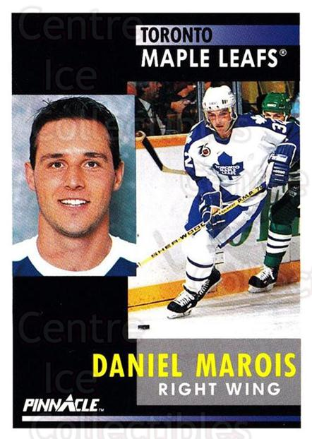 1991-92 Pinnacle #27 Daniel Marois<br/>8 In Stock - $1.00 each - <a href=https://centericecollectibles.foxycart.com/cart?name=1991-92%20Pinnacle%20%2327%20Daniel%20Marois...&quantity_max=8&price=$1.00&code=245321 class=foxycart> Buy it now! </a>