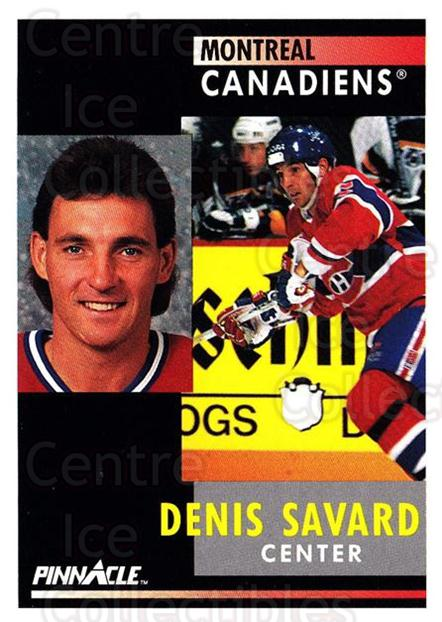 1991-92 Pinnacle #28 Denis Savard<br/>8 In Stock - $1.00 each - <a href=https://centericecollectibles.foxycart.com/cart?name=1991-92%20Pinnacle%20%2328%20Denis%20Savard...&quantity_max=8&price=$1.00&code=245322 class=foxycart> Buy it now! </a>