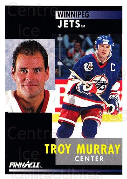 1991-92 Pinnacle #33 Troy Murray<br/>8 In Stock - $1.00 each - <a href=https://centericecollectibles.foxycart.com/cart?name=1991-92%20Pinnacle%20%2333%20Troy%20Murray...&quantity_max=8&price=$1.00&code=245327 class=foxycart> Buy it now! </a>