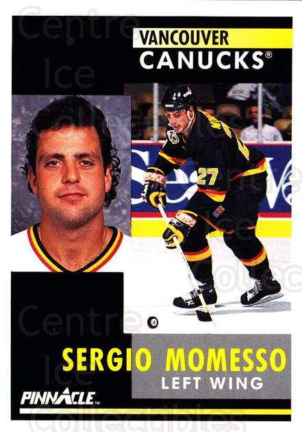 1991-92 Pinnacle #34 Sergio Momesso<br/>8 In Stock - $1.00 each - <a href=https://centericecollectibles.foxycart.com/cart?name=1991-92%20Pinnacle%20%2334%20Sergio%20Momesso...&quantity_max=8&price=$1.00&code=245328 class=foxycart> Buy it now! </a>