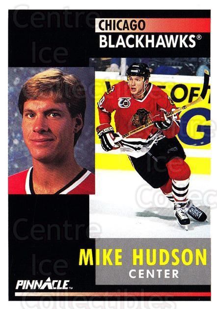 1991-92 Pinnacle #38 Mike Hudson<br/>8 In Stock - $1.00 each - <a href=https://centericecollectibles.foxycart.com/cart?name=1991-92%20Pinnacle%20%2338%20Mike%20Hudson...&quantity_max=8&price=$1.00&code=245332 class=foxycart> Buy it now! </a>
