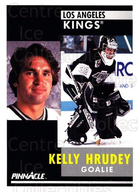 1991-92 Pinnacle #39 Kelly Hrudey<br/>8 In Stock - $1.00 each - <a href=https://centericecollectibles.foxycart.com/cart?name=1991-92%20Pinnacle%20%2339%20Kelly%20Hrudey...&quantity_max=8&price=$1.00&code=245333 class=foxycart> Buy it now! </a>