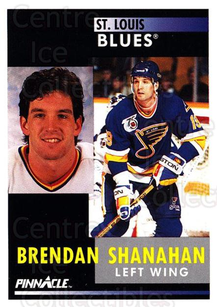 1991-92 Pinnacle #41 Brendan Shanahan<br/>7 In Stock - $1.00 each - <a href=https://centericecollectibles.foxycart.com/cart?name=1991-92%20Pinnacle%20%2341%20Brendan%20Shanaha...&quantity_max=7&price=$1.00&code=245335 class=foxycart> Buy it now! </a>
