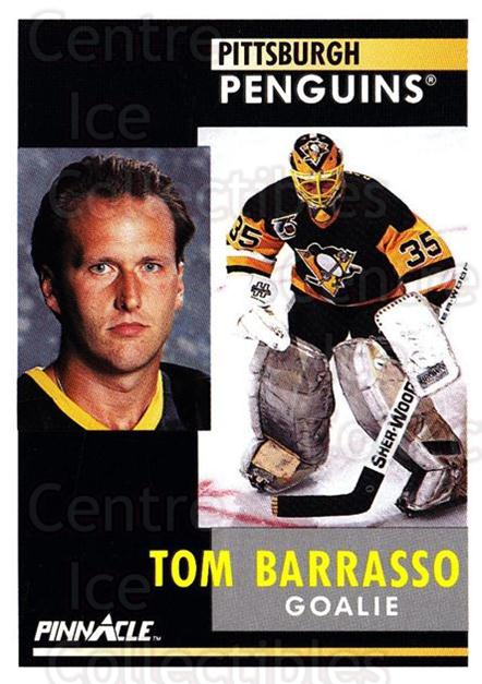1991-92 Pinnacle #44 Tom Barrasso<br/>6 In Stock - $1.00 each - <a href=https://centericecollectibles.foxycart.com/cart?name=1991-92%20Pinnacle%20%2344%20Tom%20Barrasso...&quantity_max=6&price=$1.00&code=245338 class=foxycart> Buy it now! </a>