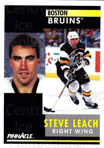 1991-92 Pinnacle #46 Stephen Leach<br/>8 In Stock - $1.00 each - <a href=https://centericecollectibles.foxycart.com/cart?name=1991-92%20Pinnacle%20%2346%20Stephen%20Leach...&quantity_max=8&price=$1.00&code=245340 class=foxycart> Buy it now! </a>