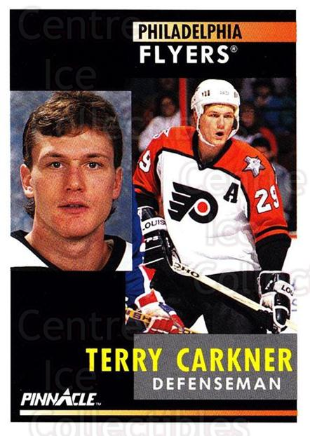 1991-92 Pinnacle #51 Terry Carkner<br/>8 In Stock - $1.00 each - <a href=https://centericecollectibles.foxycart.com/cart?name=1991-92%20Pinnacle%20%2351%20Terry%20Carkner...&quantity_max=8&price=$1.00&code=245345 class=foxycart> Buy it now! </a>