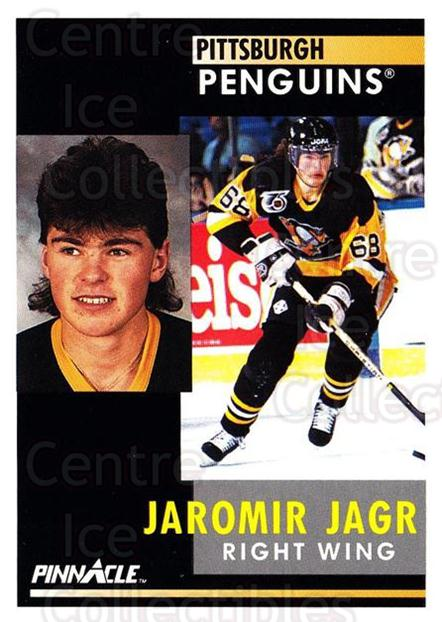 1991-92 Pinnacle #53 Jaromir Jagr<br/>3 In Stock - $2.00 each - <a href=https://centericecollectibles.foxycart.com/cart?name=1991-92%20Pinnacle%20%2353%20Jaromir%20Jagr...&quantity_max=3&price=$2.00&code=245347 class=foxycart> Buy it now! </a>
